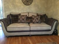 Nearly new 3 & 2 seater sofa