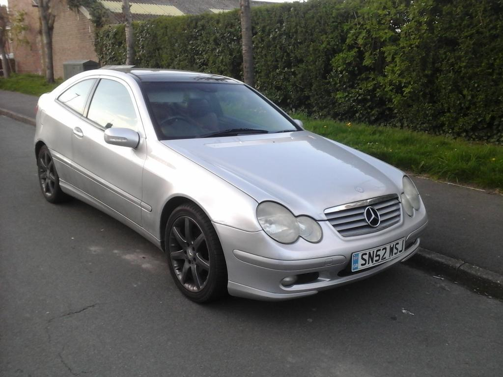 mercedes c220 cdi 3 door coupe in sheffield south yorkshire gumtree. Black Bedroom Furniture Sets. Home Design Ideas