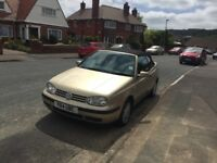 VW Golf 2.0 Cabriolet. Convertible. Soft Top.