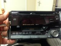 Car cd,cassettes and radio player