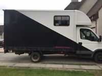 3.5T HORSE LORRY (IVECO DAILY 35S12 SWB) FOR SALE (SLEEPER)