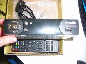 Recordable High definition freeview box