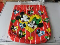 mickey & minnie cotton bags.new.