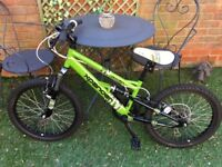 Apollo Expander boys bike. Up to age 9. Excellent condition. 18 months old.