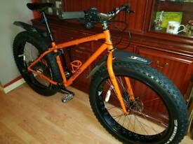 Genesis caribou fat bike with upgrades