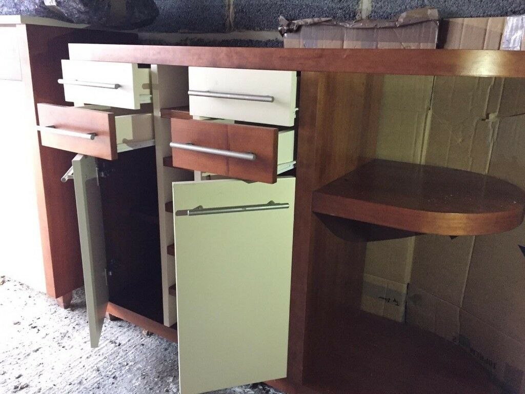200 Each 350 For The Pair Two Matching Solid Modern Dining Room Cabinets Sideboards