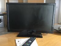 Television, Freeview, DVD Player, Remote Control, Instructions. DTV, Slim Design. As we .