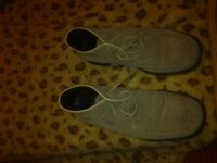 Hudson Men Shoes - Suede Italian Fashion Size 42-44 (8-9 UK)