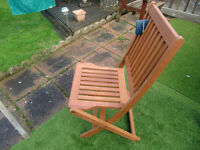 NEW garden chairs