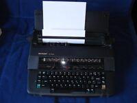 Sharp Portable Electronic Typewriter PA-3100S