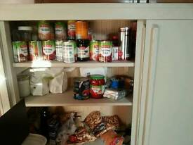 Sliding door kitchen Larder: Price reduced for quick sale
