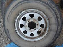 4 x GQ PATROL RIMS & TYRES. 16 inch Wasleys Gawler Area Preview