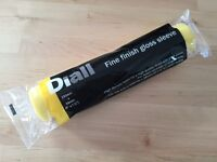 Diall Fine finish gloss sleeve roller