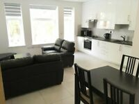 Top Quality 1 Bed Flat Bath Shower Open Plan Kitchen Dining Sitting Room Very Near Tube Bus Shops
