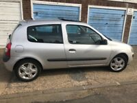 Renault Clio For sale!!- very reliable and clean car!