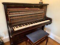 Piano & stool free to uplift