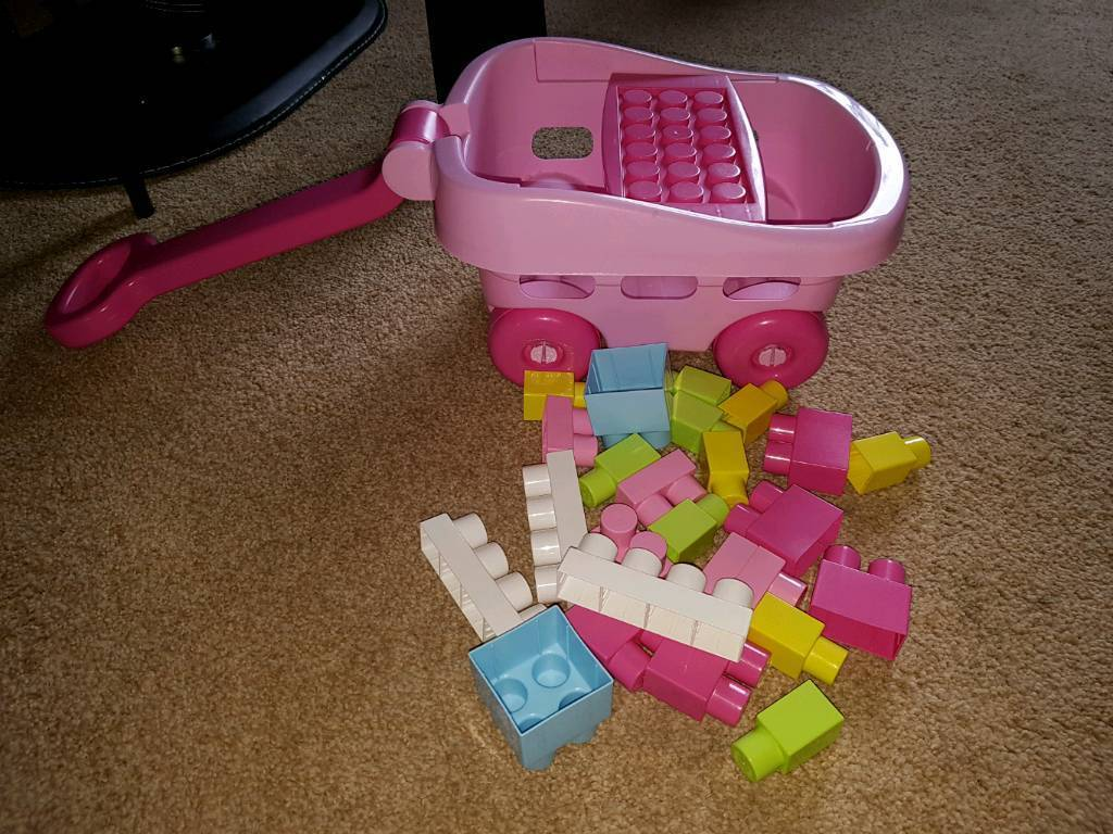 Pull along lego truck