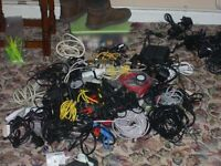 Huge Collection of Assorted Cabels & Adaptors - A Must for E
