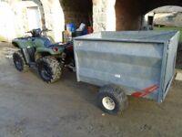 atv livestock sheep trailer quad