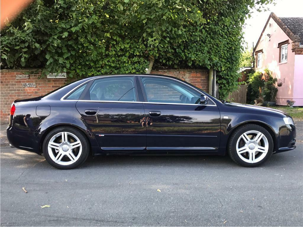 audi a4 b7 2 0 tfsi turbo sline in capel st mary