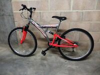 British Eagle bicycle in Orange and Silver
