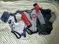 Baby boy bodysuits 6-9 months