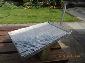 ALUMINIUM TRAYS VARIOUS SIZES FIT TO LEG OF TACKLE BOX