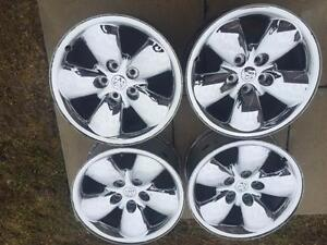 20'' DODGE RAM RIMS SET OF 4 $500.00 (60VGRIM1) MIDLAND ON.