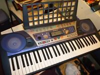 yamaha psr262 full size light weight digital keyboard,hundreds of voices,styles etc..stanmore ,middx