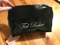 96fb159522  New with tags  Ted Baker large black wash bag