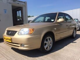 04 HYUNDAI ACCENT 1.3 CDX 5dr H/B - MOT NOVEMBER - ONLY 61,000 MILES - PX TO CLEAR