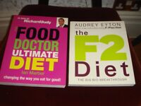 The Food Doctor Ultimate Diet Book by Ian Marber and The F2 Diet by Audrey Eyton