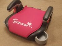 Graco Princess booster seat with cup holders
