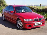BMW E46 325i M Sport Saloon Imola Red 83k miles