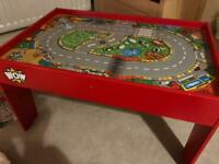 Wow toys car table
