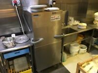 Winterhalter GS502 lift top pass through dishwasher with associated draining board QUICK SALE