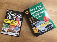 AA Highway Code & Theory/Hazard Test + CD (2016)