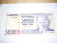 Turkish Banknote