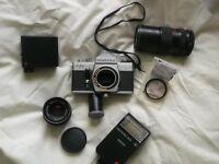 Practika PLC3 With Telephoto Lens