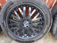 land rover khan 21'' alloy wheels for land rover. range rover. vw t5