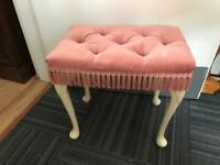 Vintage Queen Anne dressing stool