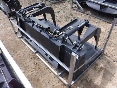 2021 New 72 Jct Severe Duty Grapple Bucket Universal Skid Steer Attachment