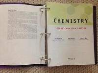 Chemistry Second Canadian Edition