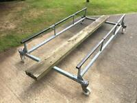 Boat trolley 5ft x 10ft galvanised good condition