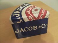 Jacobs Cream Cracker Tin
