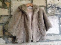 MARELLA SPORT (Max Mara) faux fur hooded jacket/coat