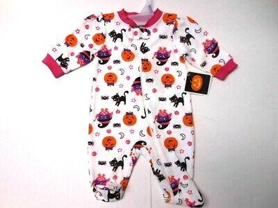 Pajamas Baby clothes Sleep & Play Halloween Little monster Footsie Pjs Newborn ()