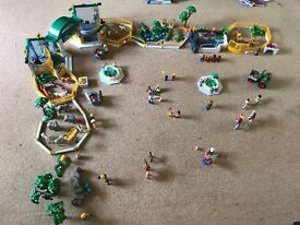 HUGE Vintage Playmobil Zoo With LOADS of Extras £75