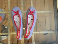 Brand new limited edition Cath Kidston slippers size 7