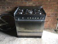 Smeg 5 ring dual fuel cooker, 800mm width